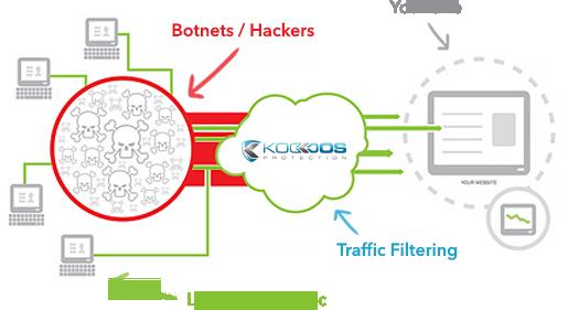 Besoin de sécuriser votre infrastructure web contre les attaques DDOS ?